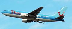 Boeing 767-204 G-BRIG (707-348C) Tags: palmaairport palma lepa airliner jetliner boeing boeing767 b762 spain thomsonairways thomson thomsonflycom passenger tom tui pmi 2006 gbrig
