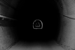 Tunnel (rinuccio1983) Tags: tunnel bw black white blackwhite light dark night gallery overthere pov juvemerda life stronger style love napoli naples italy nice november bar touch touched basic