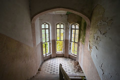 (jkatanowski) Tags: urbex urban exploration europe derelict decay uwa sony a7m2 indoor interior architecture old closed lost lostplace forgotten ruined ceiling building wall 1740mm poland window