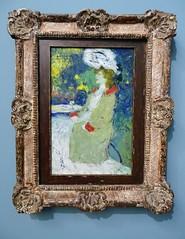 Rotterdam '19 (faun070) Tags: rotterdam museumboijmansvanbeuningen womanterracecafepicasso 1901 pablopicasso modernart painting