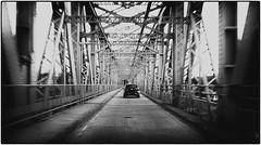 over the bridge (scuthography) Tags: bridge blackandwhite gap steel endless art magic scottland scotland scotish engineering scuthography