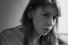Manon (BenoitGEETS-Photography) Tags: manon d610 nikon younglady tamron 2470 mons f28 bn bw nb noiretblanc