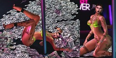 #542 All a bad bitch need is the Money $ (|| Bonnii Hendes || Blogger || Decorator) Tags: essenz money stripper cardi b itsgirls mon cheri pose manics