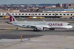 A7-AME | Airbus A350-941 | Qatar Airways (cv880m) Tags: newyork jfk kjfk kennedy aviation airliner airline aircraft airplane jetliner airport a7ame airbus a350 359 350900 qatar qatari qatarairways oryx swoosh 350941