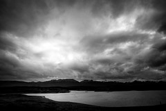 Tierra del Fuego, Argentina (pas le matin) Tags: landscape paysage world travel bw nb blackandwhite noiretblanc sky ciel nuage cloud canal channel beaglechannel canalbeagle water eau mer sea mountains montagne dramatic monochrome 5d 5dmkiii canon canon5d canon5dmkiii canoneos5dmkiii eos5dmkiii argentine argentina southamerica patagonie patagonia terredefeu tierradelfuego