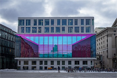 Opernhaus in München (Janos Kertesz) Tags: building architecture office block city urban construction modern window residential design glass style new mirror contemporary munich bavaria münchen bayern