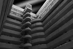 Unexpected Habana (Stephane Laborde) Tags: canon 2470 archi architecture bw nb