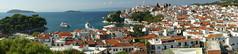 Skiathos Town Panoramic (steve_whitmarsh) Tags: greece skiathos skiathostown building architecture water sea ocean marine panorama topic