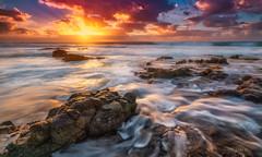 Eldorado. (darklogan1) Tags: fuerteventura spain clouds waves sony ilce7rm3 mirrorless rocks yellow orange logan sky ocean canaryislands vivid darklogan1 sonya7r3 sony1635mmf28