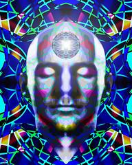 Meditation_Nexus_01 (photoshopflair) Tags: meditation meditate nexus closedeyes dream mood moods abstract art design