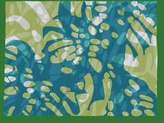 2018.06.23 Templeton (Seagreen Study) (Julia L. Kay) Tags: shadow shadows silhouette juliakay julialkay julia kay artist artista artiste künstler art kunst peinture dessin arte woman female sanfrancisco san francisco daily everyday 365 botanical botany plant foliage splitleaf philodendron splitleafphilodendron sundances templeton templetoncommission