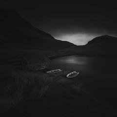Days Gone By (www.neilburnell.com) Tags: monochrome snowdonia mood moody dark mono black bw landscape fineart