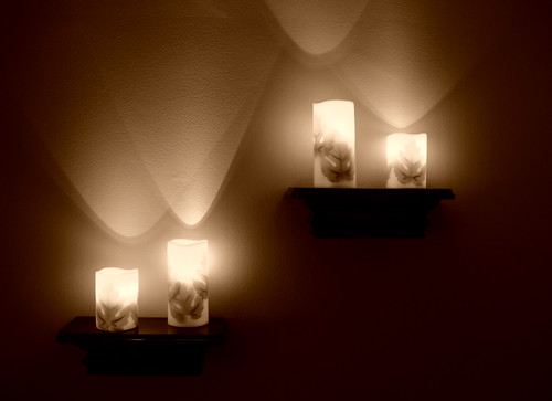 Electric Candles (Sepia)