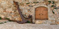 PORT BO - ANCLA (Joan Biarnés) Tags: calelladepalafrugell baixempordà costabrava girona catalunya 285 panasonicfz1000 porta ancla áncora