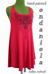 ondaniela 2018 (23) scritta (ondaniela) Tags: ondaniela handpainted 2018 venduta vestitocanotta vestito mehndi henna indian