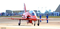 Red Arrow J78A1942 (M0JRA) Tags: manchester airport planes flying jets biz aircraft pilot sky clouds runways