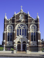Temora's Sacred Heart Catholic Church, built 1908 - see below (Paul Leader - Paulie's Time Off Photography) Tags: catholicchurch church heritagelisted oldbuilding temoransw sacredheartcatholicchurchtemora olympus olympusomdem10 paulleader architecture building heritagebuilding god christian christianity saviour savior faith nsw newsouthwales australia