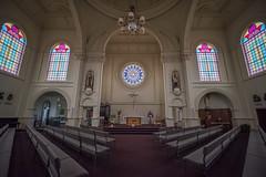 St Mary's Basilica (OzzRod (on the wallaby)) Tags: pentax k1 irix15mmf24blackstone church pews stainedglass windows stmarysbasilica invercargill newzealand