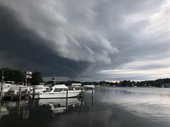 by Steve Hamilton (Maryland DNR) Tags: 2018 photocontest summer storm rain thunderstorm clouds dramatic