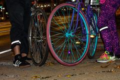 Bronx, New York (Quench Your Eyes) Tags: letsglownbx letsglownyc ny bicycle bikelights bronx fallride fordhamplaza glowatnight lumoshelmet newyork newyorkcity newyorkstate nightride nyc nycdot reflective thebronx visibility fyrflynyc ubbicycleadv