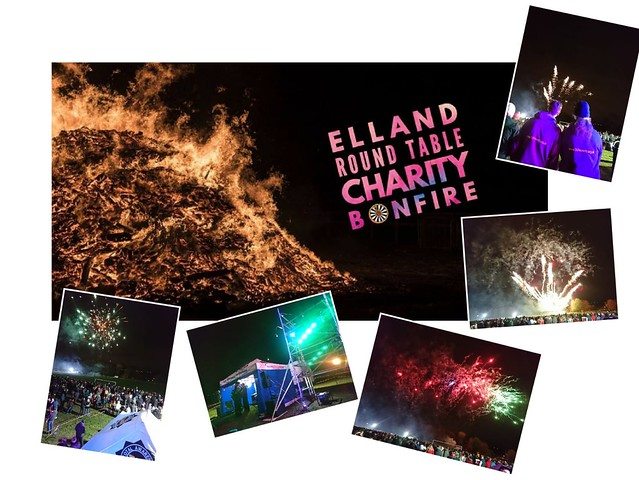 Elland Round Table Charity Bonfire 2018