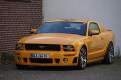 Ford Mustang met kenteken KLE-VS 80 in Weeze 07-11-2018 (marcelwijers) Tags: ford mustang met kenteken klevs 80 weeze 07112018 world car cars automobiel pkw auto deutschland nrw duitsland germany allemagne