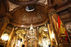 interior of Cathedral Basilica of Nuestra Señora del Pilar, built in the year 1681 in Zaragoza, Spain (chrisdingsdale) Tags: abbey ancient antique arc arch architecture art building cathedral catholic catholicism christian christianity church cloister column culture europe faith famous gothic heritage historic history landmark medieval monastery monument mountain old religion religious spain stone style temple tower view wall window
