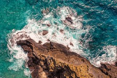 East side Oahu cliffs (Corey Rothwell) Tags: hawaii honolulu beach cliff waves rocks coast coastline