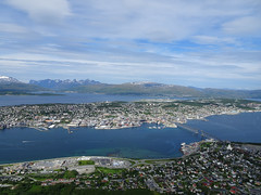 Summer memories (Mrs.Snowman) Tags: tromsø city northernnorway summerday july holiday
