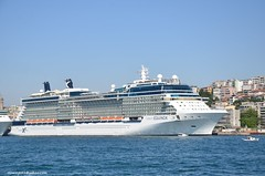 Celebrity Equinox (hamid-golpesar) Tags: celebrityequinox equinox ship cruiseship cruise istanbul turkey galatatower bosphorus modern luxury owaysee outdoor tabriz travel iran hamid hamidowaysee hamidgolpesar building city landscape