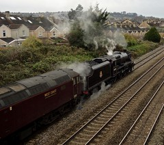 OLDFIELD PARK (mike ware) Tags: 44871 47746 the cathedrals express westmoreland loop