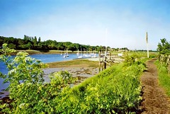 The River Crouch from South Woodham Ferrers (Linda 2409) Tags: essex river coastpath footpath