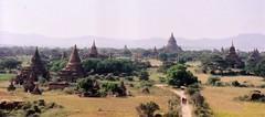 b3 (bartlebooth) Tags: bagan burma myanmar asia southeastasia nikon f65 film travel buddhist buddhism religious holy pagoda baganplains temples unesco worldheritage nikkor2485mmf3545gedifafs