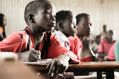 Students learning in Makod Primary and Secondary School in Tierkidi Refugee Camp, Gambella Region. (UNICEF Ethiopia) Tags: unicef unicefadvocates unicefpartners childcare childhealth