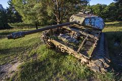 Fire! (katka.havlikova) Tags: abandoned lost rusty rust tank military army germany německo urbex urbanexploration urban exploration derelict opuštěný travel
