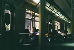 the pass of time (Andressa Miterhofer Cutini) Tags: film 35mm analog analogue analógico analogic analógica filme fujifilm fuji fotografia train movie art filmisnotdead queimandofilme filmislive pentax spotmatic camera trem window time