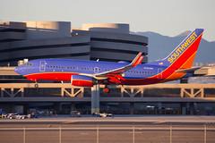 southwest_737_n293wn_phx (Lensescape) Tags: southwest boeing 737 b737 phx 2018 n293wn