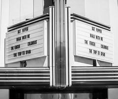 San Rafael (Thomas Hawk) Tags: america bayarea california christopherbsmithrafaelfilmcenter columbus marin marincounty orpheustheatre rafaelfilmcenter rafaeltheatre sanrafael sgtpepper thefencer thetriptospain usa unitedstates unitedstatesofamerica walkwithme westcoast bw neon neonsign us fav10
