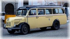 Der alte Postautobus... / The old postal service bus... (ursula.valtiner) Tags: autobus bus postautobus alt old postalservicebus christkindl steyr oberösterreich upperaustria österreich autriche austria