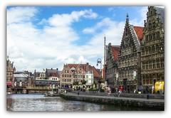 Gante (jesus.de.leon1) Tags: gante gant belgica canal agua casas