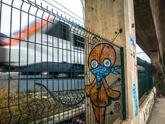 L´Hospitalet, Bellvitge (efe Marimon) Tags: canonpowershots120 felixmarimon barcelona l´hospitalet bellvitge tren vias edificio barrio