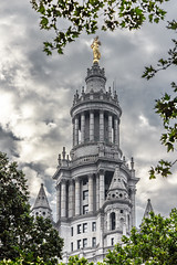 Civic Fame (Eridony (Instagram: eridony_prime)) Tags: newyorkcity newyorkcounty newyork nyc manhattan lowermanhattan civiccenter constructed1914 skyscraper historic nrhp nationalregisterofhistoricplaces