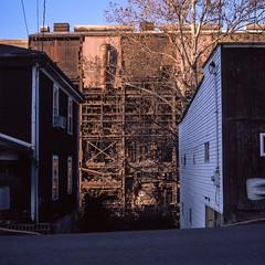 Weirton Steel #5M (rpantaleo) Tags: weirton westvirginia unitedstates us weirtonsteel rustbelt hasselblad film