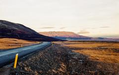 SomewhereOnIceland (KodakEktar100NikonF4s) (himbammargera) Tags: iceland2018 color road nature nikonf4s nikon landscape travel iceland 35mmfilm analog kodak kodakektar100