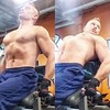 lower back (ddman_70) Tags: shirtless pecs abs muscle gym workout