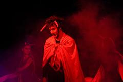 _DSC0569 (Carlo Granisso) Tags: musical church chiesa teatro theatre actor actress jesus sanfrancesco piece mask forzavenitegente maddalena altare animals animali ballo dancing bw blackandwhite torino turin nikon d7500 nikond7500