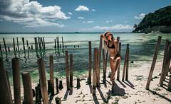 Tropical Vibes (Berdnik Dmitriy) Tags: travel boracay 2018 brdnk vision girl style fashion swimwear shadows island vibe mood