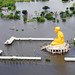Flooding north of Bangkok, Thailand