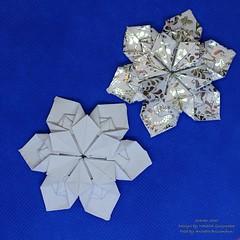 Slavko Star (AnkaAlex) Tags: origami origamistar paperfolding paper paperfoldingart origamiart origamist