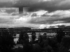 Cloud Sept 11, 2018 (zhaozhenghan) Tags: cloud bnw bw sky vancouver bc canada fujix fujifilm xt2 street streetphoto